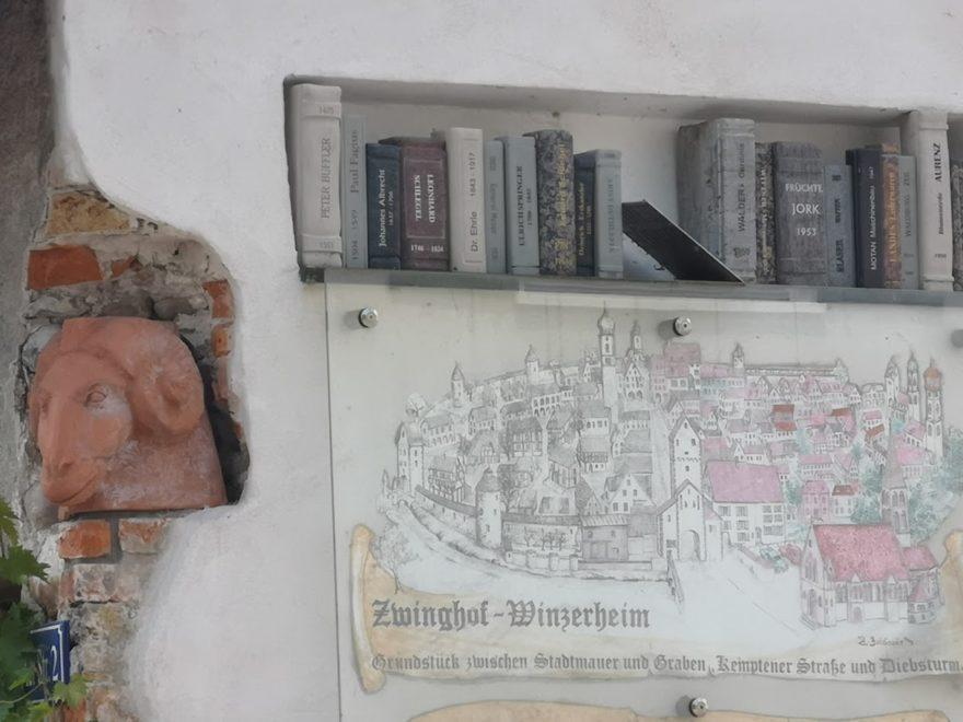 Die Kunstinstallation nach dem Gebäudeumbau